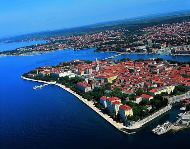 ZADAR-Zadar is the European Best Destination 2016!beautiful scenery,area and a place where the apartment is located