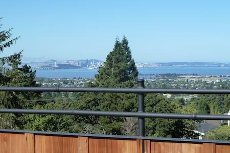 Berkeley hills vista garden retreat - Berkeley - House