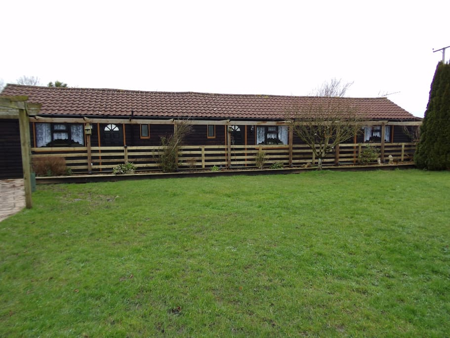 Converted stable rooms