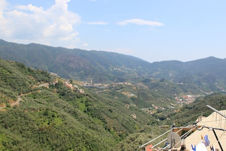 Cinqueterre - Terrace and beautiful view - Lavaggiorosso