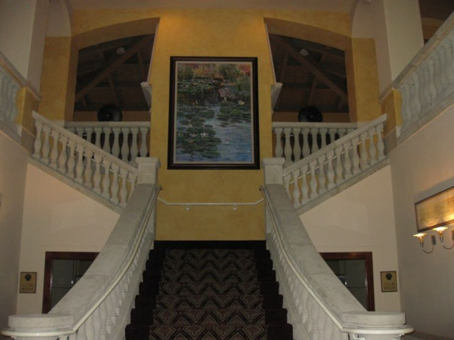 main clubhouse stairs
