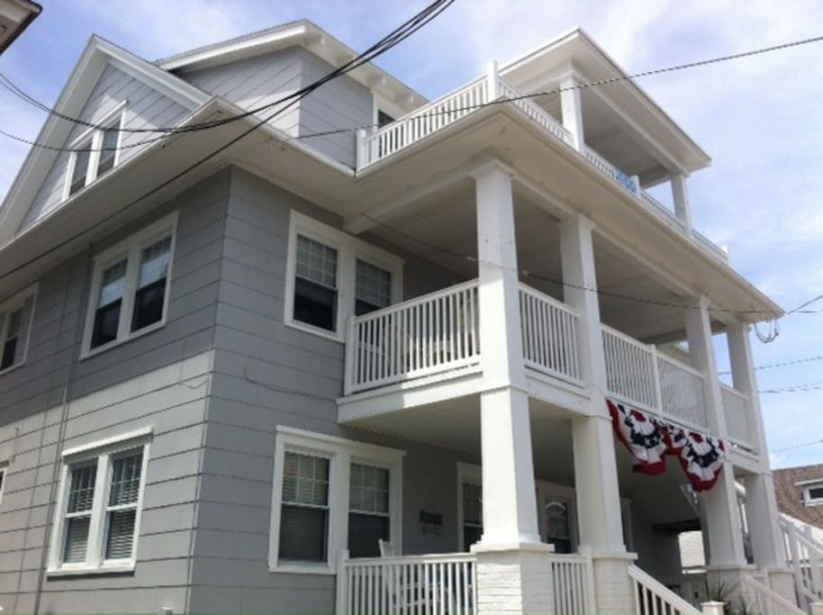 Charming Beach House Condo Ocnj Apartments For Rent In