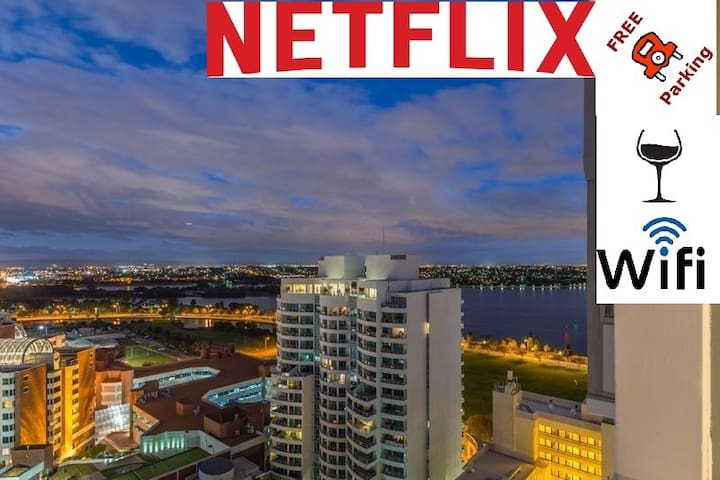 WOW! CBD EXEC AMAZING VIEWS FREE WIFI NETFLIX WINE