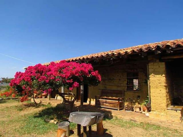 POMPASOLA Alojamiento rural - Villa de Leiva - Haus
