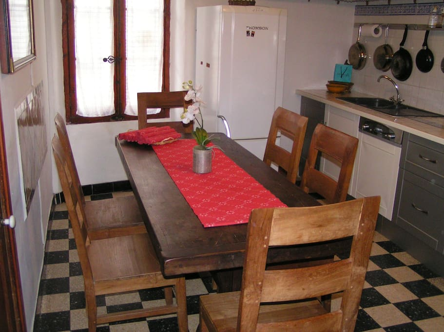 Küche, Cuisine, Kitchen