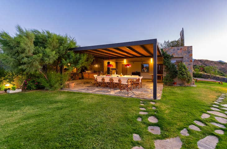 Open BBQ space