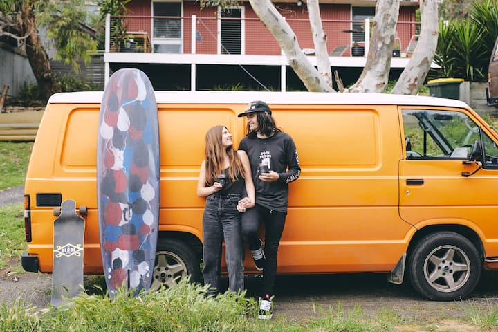 Poppy the Surf Van