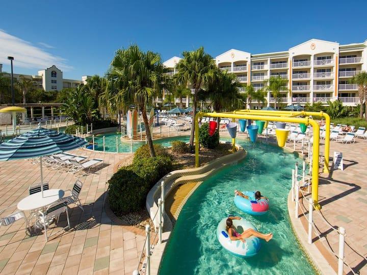 Newly Remodeled Getaway w/ Pool, Lazy River, Beach
