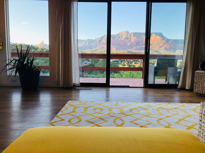 Indulge in the views and  the energy of Sedona