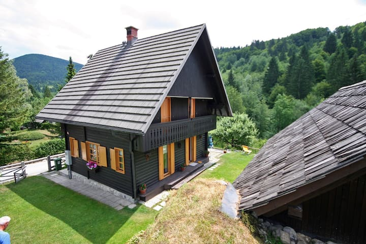 Lake Bohinj - Quiet House by the river - Stara Fužina - Casa