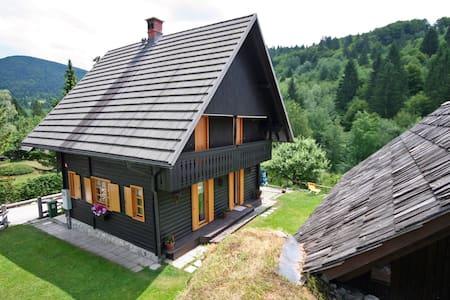 Lake Bohinj - Quiet House by the river - Stara Fužina - 独立屋