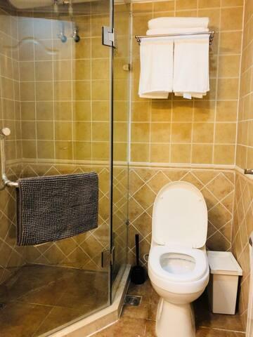 全套宜家白色浴巾➕毛巾 一客一换