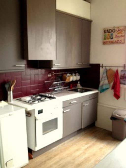 Kitchen/ cuisine aménagée