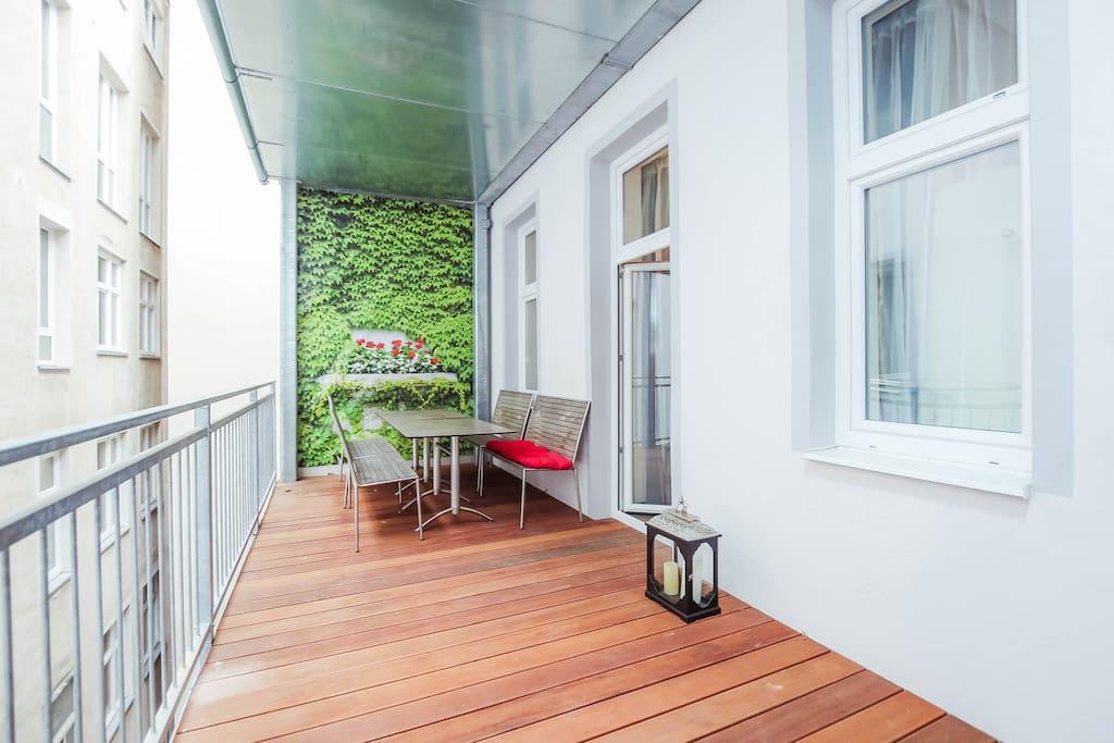 Danube apartments 32 xxl apartment with balcony - Asciugatrice in balcone ...