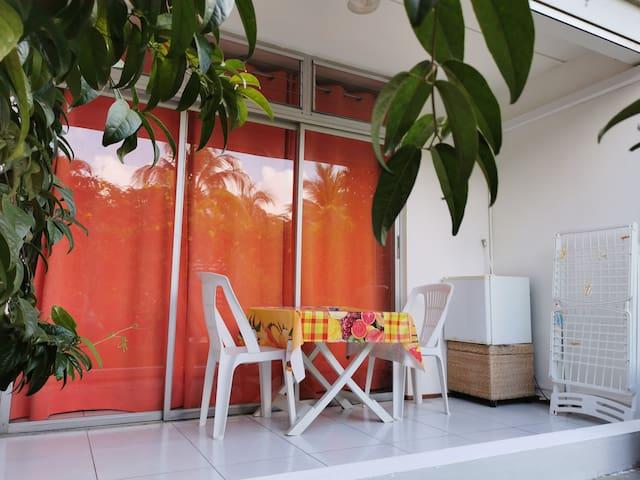 Appartement, Rez de Jardin, à 2 pas de la Mer ....