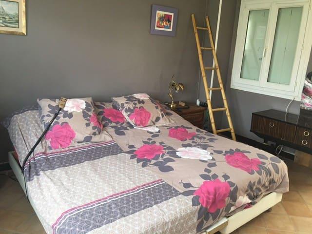 chambres meublees pour 2 - Laon - Şehir evi