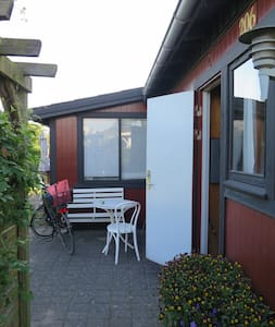Skønt kolonihavehus m/kort afstand til Festivalen - Roskilde - Blockhütte