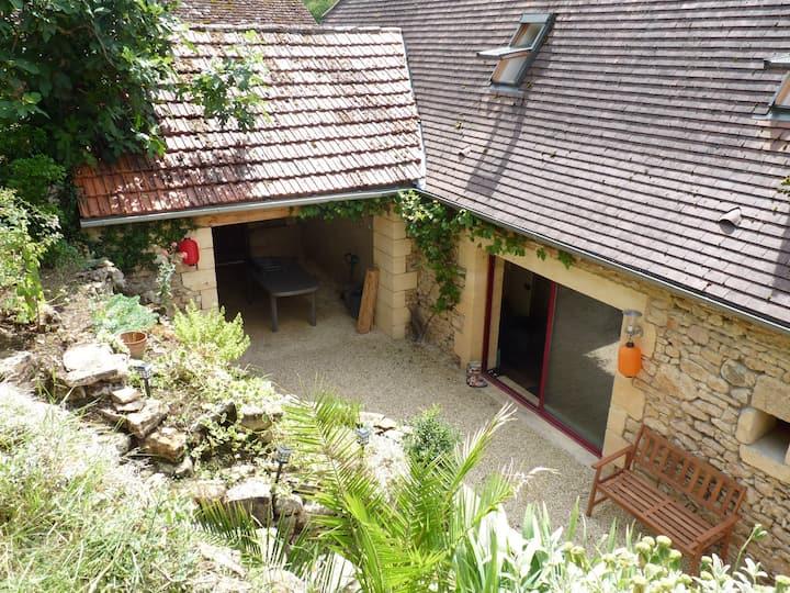 Maison familiale typique du Périgord (Dordogne)