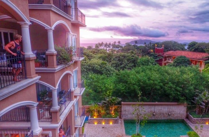 OCEAN VIEW Luxury 2BR Condo Tamarindo Beach - Tamarindo - Condominium