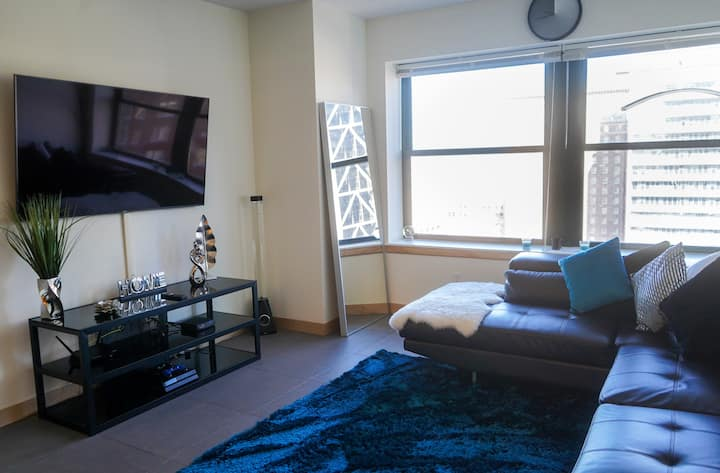 HISTORICAL SMART HOME HIGH RISE APT DOWNTOWN, STL!