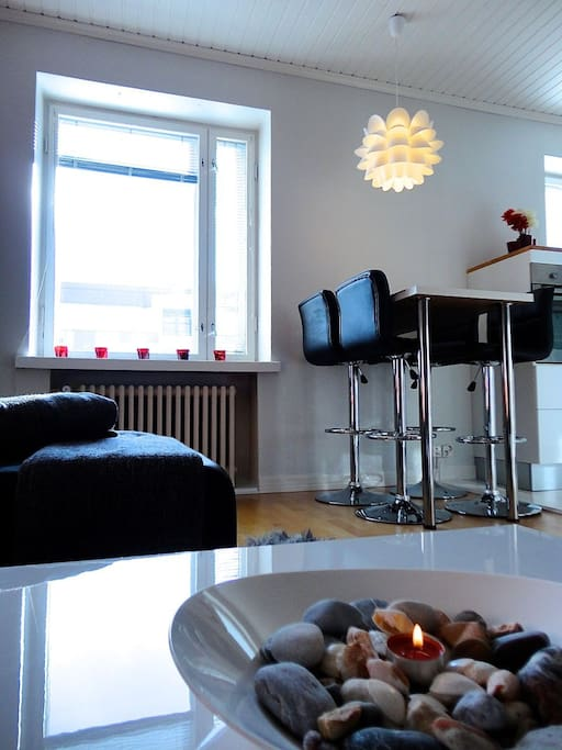 Unique apartment in Tampere centre!