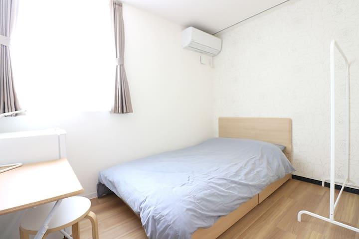6min Sta.&30min Ikebukuro♪Semi-double bed☆G91-6