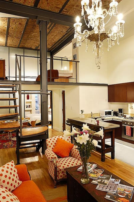 Comfortable Loft in Recoleta!