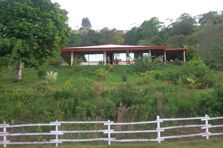 Lovely home on farm above Turrialba - Turrialba  - Rumah