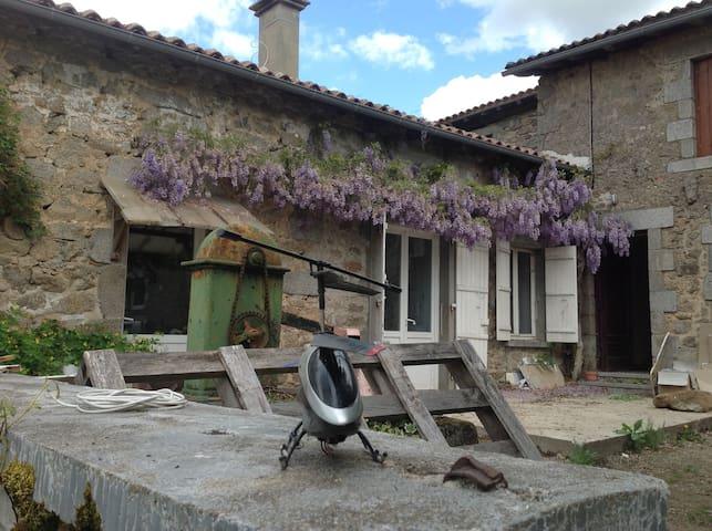 maison de vacances en Périgord 5/6 personnes - Piégut-Pluviers - Casa