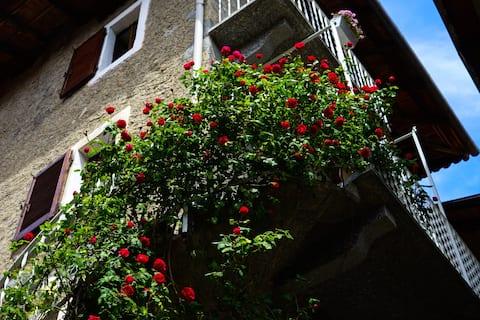 Kaptajnens kvarterer: Byhus ved Maggioresøen