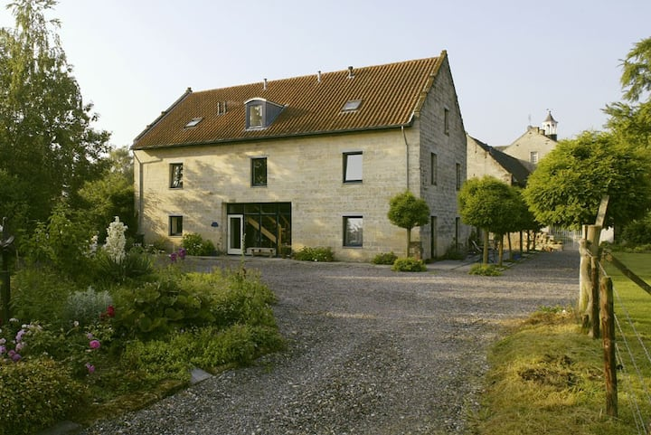 B&B in historic limestone building