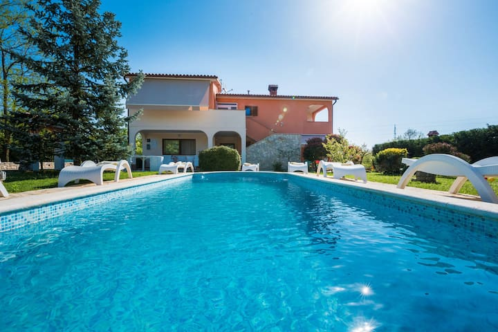 Luxury villa in the country side of Istria, the best wine and olive oil region