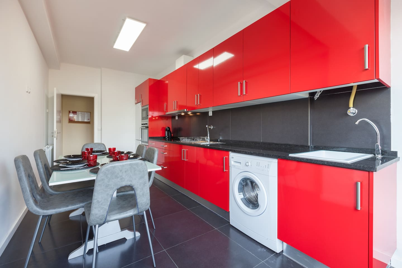 Cozinha; Zona de Refeições