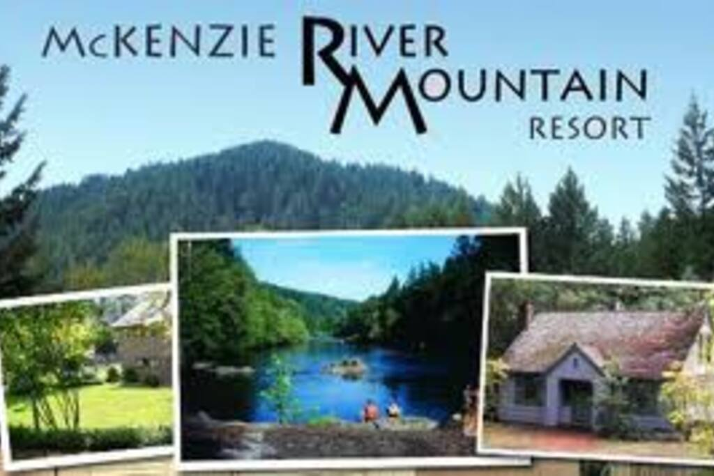 Located in Blue River Oregon, home of the McKenzie River Trail!