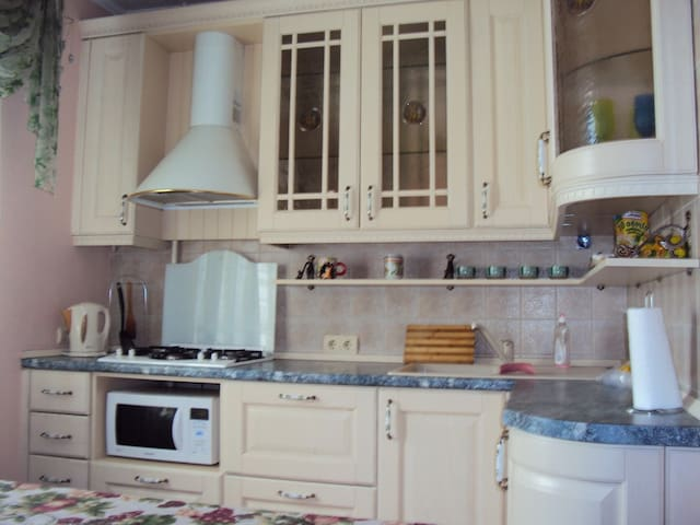 Comfortable three-room apartment - Donetsk - Apartment