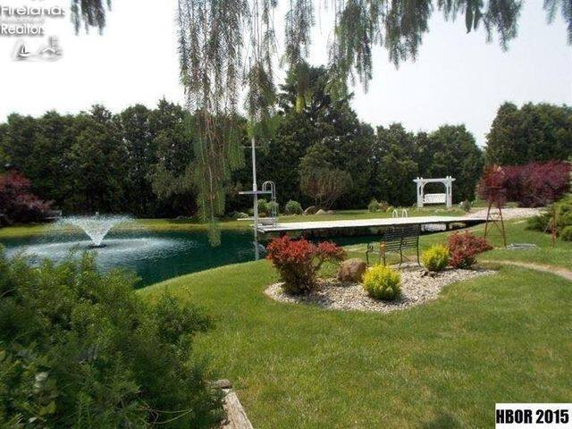Pond and grounds