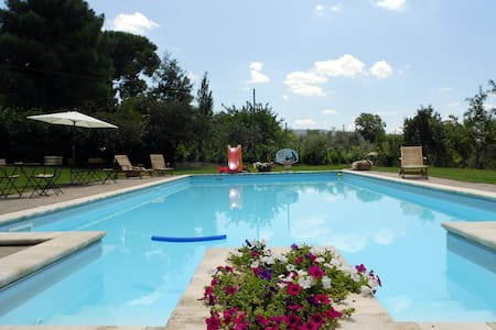 Country House of 1700 with pool - Viterbo - Huoneisto