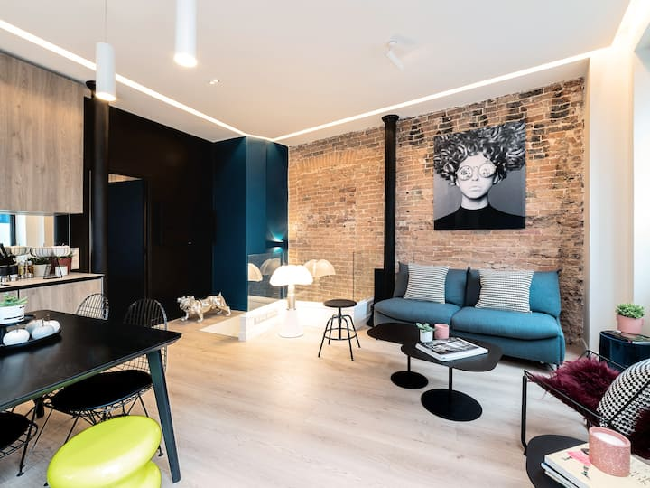 Exclusive Loft in Le Marais with A/C