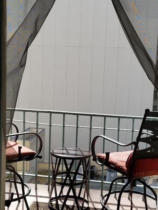 Ousidie Balcony