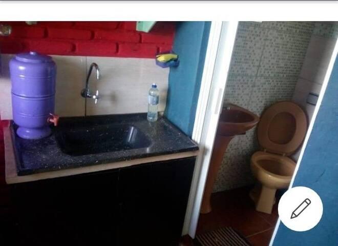 Suite com cozinha