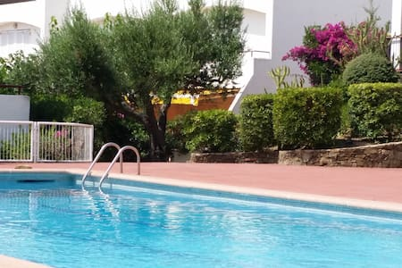 200m de la mer, terrasse de 25 m2 fleurie, piscine - Llançà