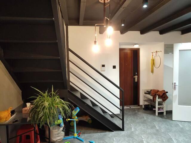 LOFT公寓,天津海河边的家,近海昌极地海洋馆、洋货、开发区、地铁9号线