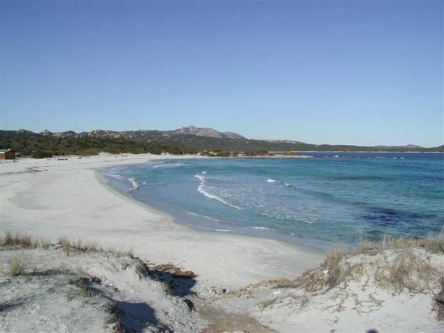 Spiaggia Rena Bianca a soli 5 minuti di macchina