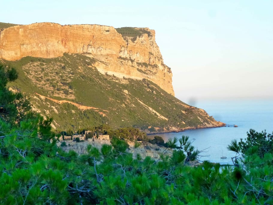 Cap Canaille, vu de notre terrasse