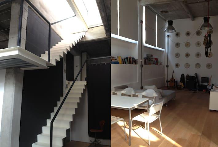 Loft 130 sqm, 2 floors + terrace - Torino - Loft