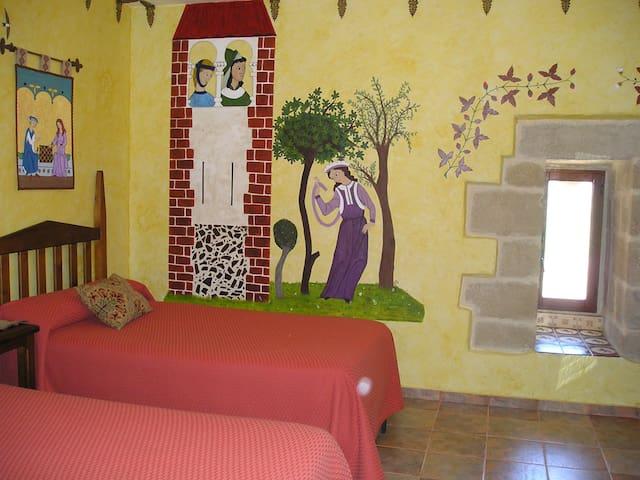 """Habitación """"Atalaya""""(4ª planta) - Baños de Rioja"""