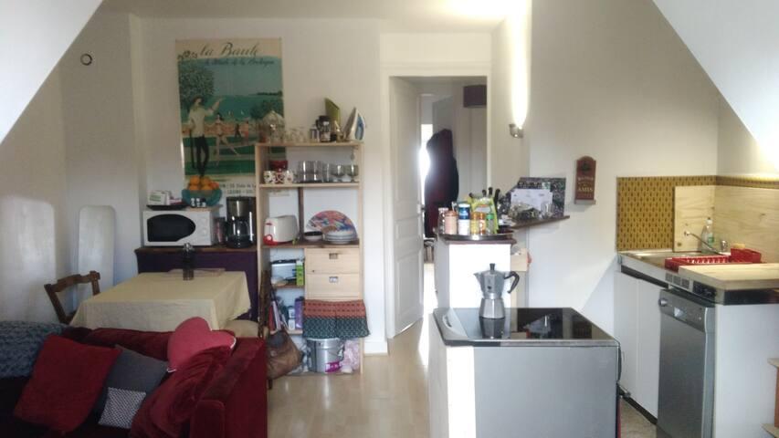 Appartement cosy en centre ville