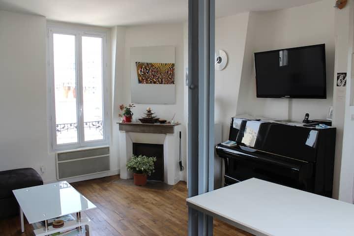 Appartement 2 pièces paris 20ème