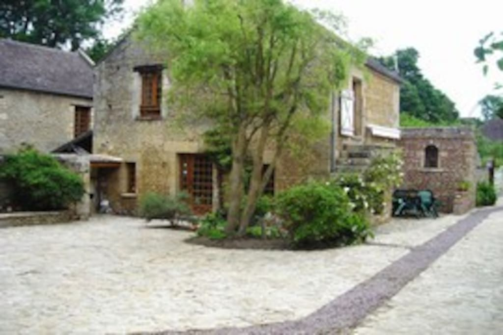Maison ancienne en pierre houses for rent in ranville lower normandy france - Maison pierre normandie ...