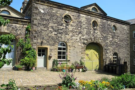 Oats Royd Barn S/C Loft Apartment - Halifax, Hebden Bridge - Leilighet